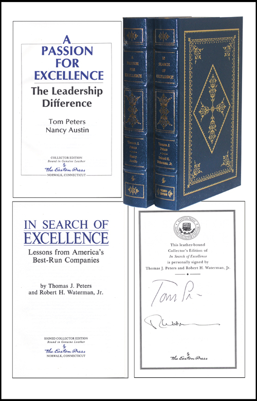 In search of excellence a passion for excellence 2 vol thomas j in search of excellence a passion for excellence 2 vol publicscrutiny Gallery