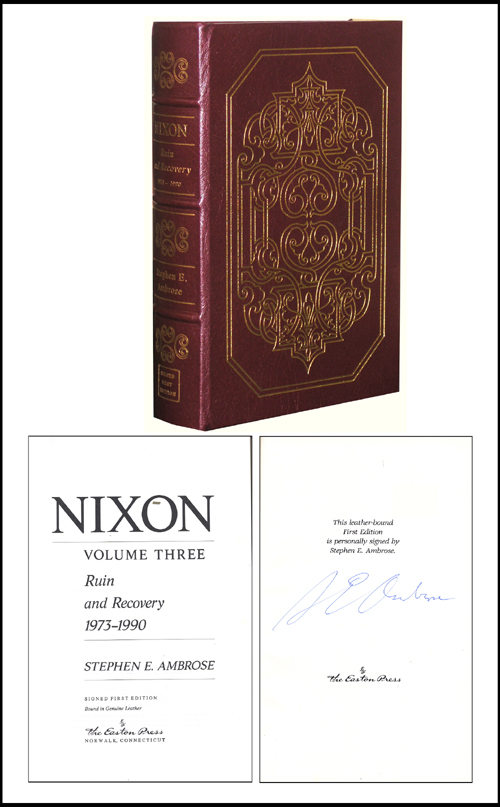 Nixon: Ruin and Recovery 1973-1990. Stephen A. Ambrose.