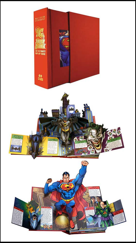 DC Comics Super Heroes: The Ultimate Pop-up Book by Matthew Reinhart, DC  Comics on Parrish Books
