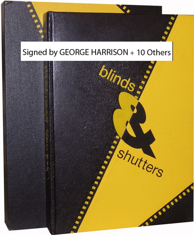 Blinds & Shutters [Signed by George Harrison, etal.]. Michael Cooper.