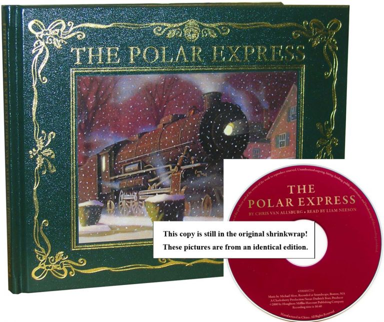The Polar Express [30th Anniversary Edition with Liam Neeson CD]. Chris Van Allsburg.