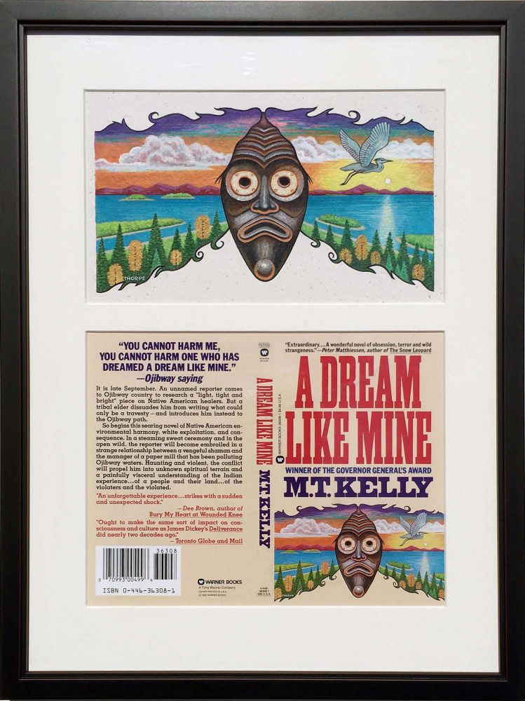 A Dream Like Mine: Original painting. for M. T. Kelly Peter Thorpe.