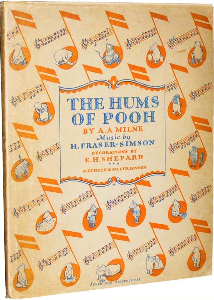 The Hums of Pooh. H. Fraser-Simson with.
