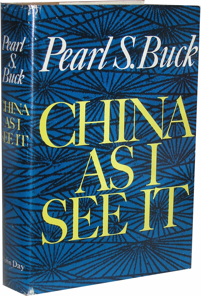 China As I See It. Pearl S. Buck.