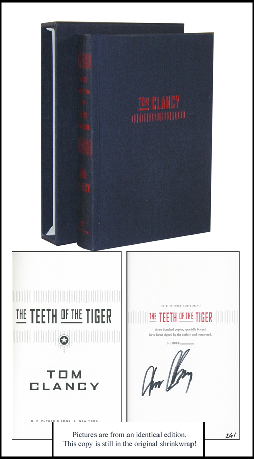 The Teeth of the Tiger. Tom Clancy.