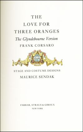 The Love For Three Oranges: The Glyndebourne Version