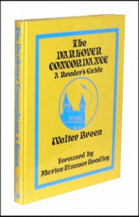 The Darkover Concordance: A Reader's Guide. Foreword Walter Breen, Marion Zimmer Bradley