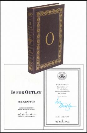 O Is For Outlaw. Sue Grafton