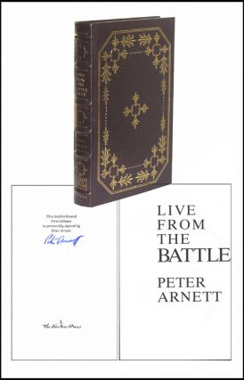 Live From the Battlefield: From Vietnam to Baghdad. Peter Arnett.