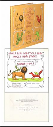 Lions and Lobsters and Foxes and Frogs. Ennis Rees.