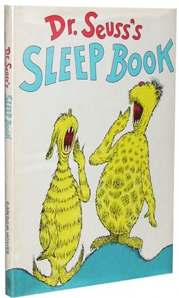 Dr. Seuss's Sleep Book. Seuss Dr