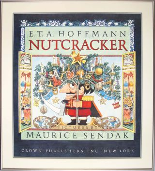 The Nutcracker (Signed Framed Poster). Maurice Sendak