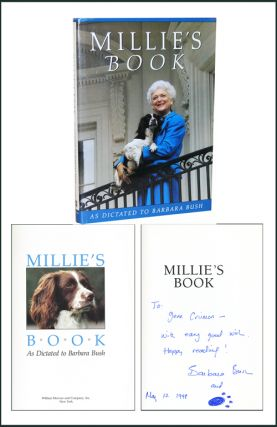 Millie's Book: As Dictated to Barbara Bush. Barbara Bush.