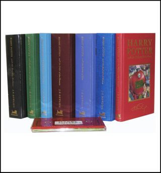Harry Potter Harry Potter Complete set Deluxe [7 Vol. ++]. J. K. Rowling.