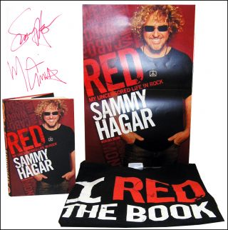 Red: My Uncensored Life in Rock [w/t-shirt and poster]. Michael Anthony w/ Joel Selvin, Forward