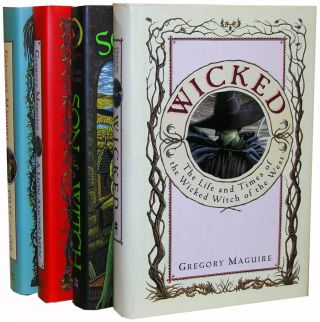 "The Complete ""Wicked"" series: ""Wicked;"" ""Out of Oz,"" ""A Lion Among Men,"" and ""Son of a Witch."" ..."