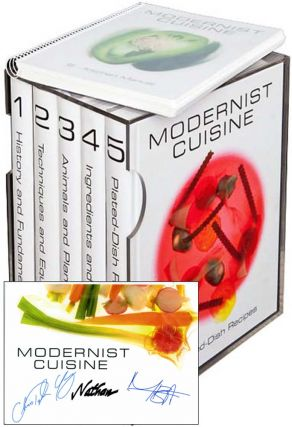 Modernist Cuisine: The Art and Science of Cooking [6 VOL.]. Maxime Bilet Chris Young Nathan Myhrvold.