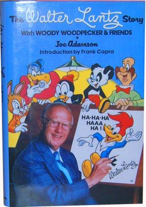 Woody Woodpecker 50th Anniversary Framed Animation Cel Presentation PLUS The Walter Lantz Story with Woody Woodpecker & Friends
