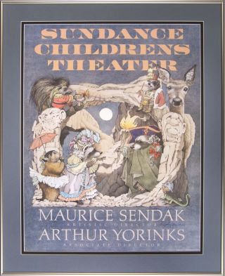 Sundance Children's Theater: [Framed poster signed by Maurice Sendak and Arthur Yorinks]....