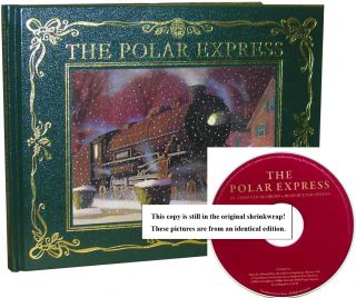 The Polar Express [30th Anniversary Edition with Liam Neeson CD]. Chris Van Allsburg