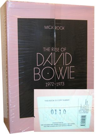 The Rise of David Bowie. 1972-1973 -- ART EDITION B. Barney Hoskyns Mick Rock, Michael Bracewell...