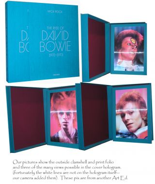 The Rise of David Bowie. 1972-1973 -- ART EDITION B