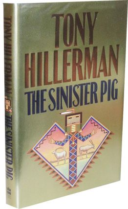 The Sinister Pig: Original Painting for the Cover plus the signed first edition [2 Items]