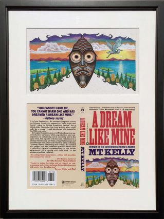 A Dream Like Mine: Original painting. for M. T. Kelly Peter Thorpe