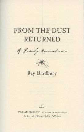From the Dust Returned: Herb Yellin's Copy