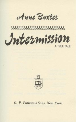 Intermission: A True Tale