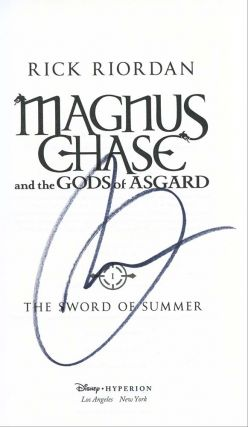 Magnus Chase and the Gods of Asgard (The Sword of Summer, Book 1)