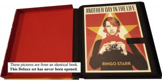 Another Day In the Life: Deluxe Edition Set with signed book and Starr photographic print