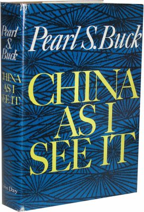 China As I See It. Pearl S. Buck