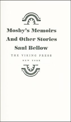 Mosby's Memoirs & Other Stories