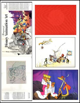 Treasures of Disney Animation Art. Robert E. Abrams, John Canemaker.